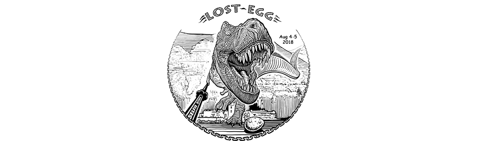 The LOST EGG Disc Golf Tournament